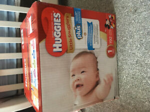 SIZE 1 diapers for sale!!BNIB/unopened**NEED GONE ASAP**