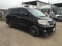 Toyota Alphard 3.0 V6 2008/57 Plate Automatic Petrol With Sunroof Fresh Import