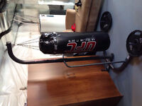 99% brand new Punching Bag and Stand. GREAT VALUE!!