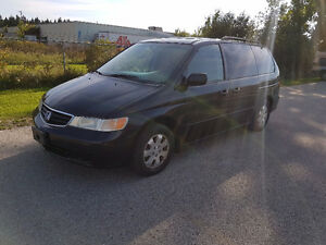 2003 Honda Odyssey SAFETIED & E-TESTED, DVD, LEATHER
