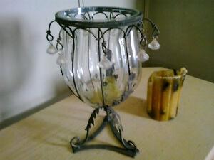 Chandelier, vase