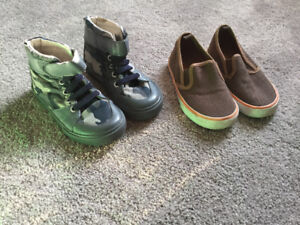 Runners and Shoes - boy's size 9