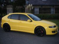 swaps▄▀▄▀ SEAT Leon 1.8 20v Turbo Cupra 60K Full Seat dealer service history ▄▀▄▀
