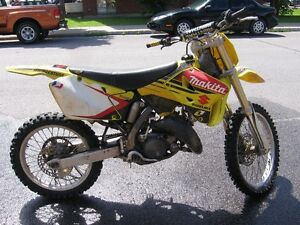2001 Suzuki RM-125 Good Condition