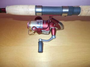 Canne moulinet nouveau model Abu Garcia, Fishing rod reel