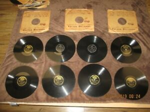 Vintage  RCA Victor 78 RPM Shellac Records