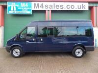 Ford Transit 350 14 Seat Minibus, 3.5t GVW