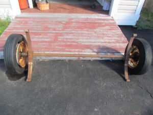 $80 if purchased this weekend! Trailer Axle and Fenders