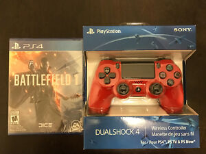 Battle Field 1/ Dual Shock 4 controller