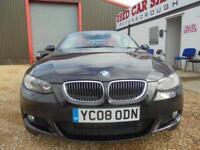 2008 08 BMW 3 SERIES 3.0 325D M SPORT 2D 195 BHP DIESEL