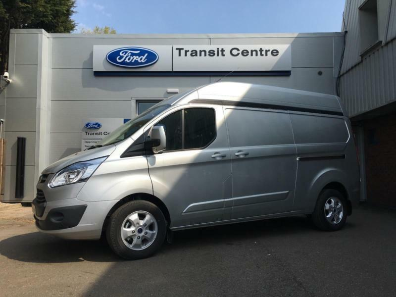 new ford transit custom 2 2tdci 155ps 290 l2h2 limited led lights onsite in hinckley. Black Bedroom Furniture Sets. Home Design Ideas
