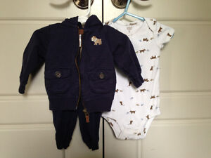 Adorable Carters 9mo 3pc outfit $2