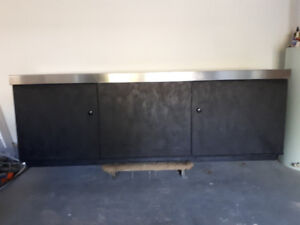Stainless work bench/cabinet