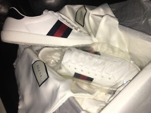REPOST-Gucci Ace Leather Sneaker