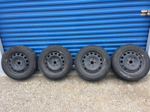 Marangoni Winter Tires & Rims Lots of tread left 205/55/R16