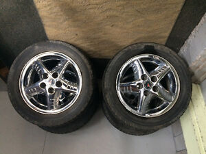 4 tires on rims - $300 OBO