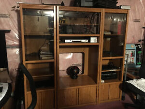 Wood wall unit - FREE