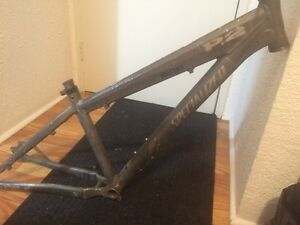 Specialized p2 frame and dirt jumper fork