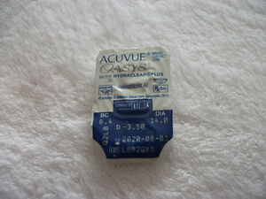 39 acuvue oasis with hydraclearplus contact lenses