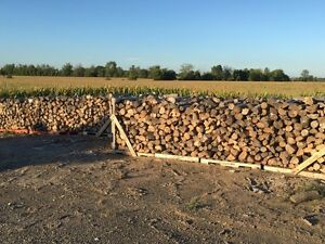 Seasoned Fence Line Hardwood Firewood
