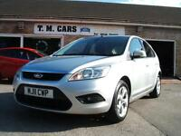 2011 Ford Focus 1.6TDCi Sport 5d **£30 Tax / Sat Nav**