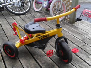 Tonka Towtruck Tricycle