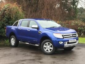 Ford Ranger 2.2 TDCi Limited 2 Double Cab Pickup 4x4 4dr (EU5) DIESEL 2013/63