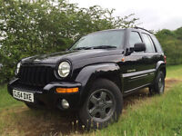 Jeep cheeroke 2.8 limited black diesel auto