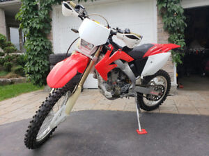 05 CRF250 Blue Plated Street Legal