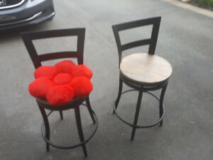 6 dinning tables chairs, for high tables