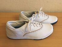 Nike Lunarlon Duet Classic Women's Golf Shoes White Size UK 5.5, Eur 39-BRAND NEW-