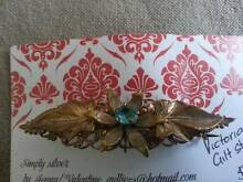 Victorian antique brooch with stone multilayered and detailed Valentine Lake Macquarie Area Preview
