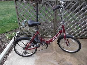 Schwinn fold up bike