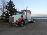 Heavy spec Kenworth T800 with auto shift, 46 Rears