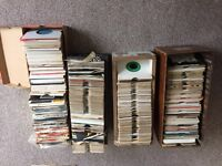 Vinyl Singles approximately 600