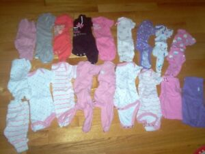 BRAND NEW $1 A PIECE INFANT GIRL CLOTHES!!!OVER 50 PIECES