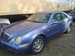 1999 Mercedes-Benz CLK 320 Class Coupe 118700 Kms Leather Auto