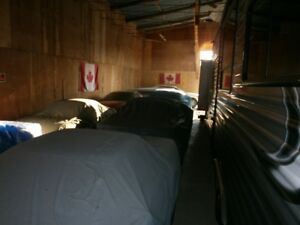 Outdoor Space for trailers,  1 indoor CAR space