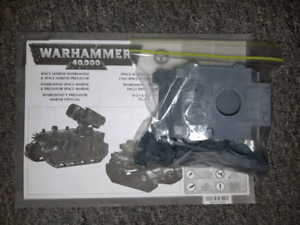 Warhammer 40k space marine bare preadtor with auto Cannon