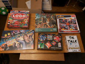 brand new family board game and puzzle bundle