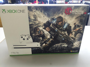 NEW XBOX ONE S GOW4 CONSOLE 1TB - GEARS OF WAR