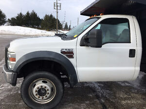 2010 Ford F-550 XL Pickup Truck Diesel 4x4 12 FT Bd Hydraulic Kitchener / Waterloo Kitchener Area image 7