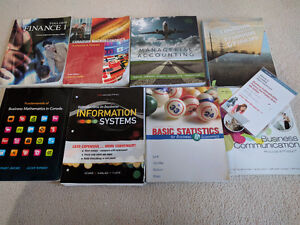College TextBooks for Sale (Business Program)