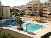 1/4 Share in 2-bed Penthouse for Sale in Campomar, Spain. Beautiful Seaview