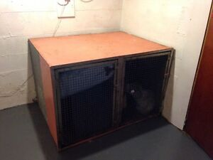 Extra Large Solid Metal Dog Crate **REDUCED PRICE**