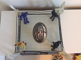 Real Steel Boxing Ring & Figures