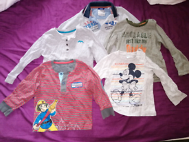 18-24 Boy 10 T-shirts (long sleeves)
