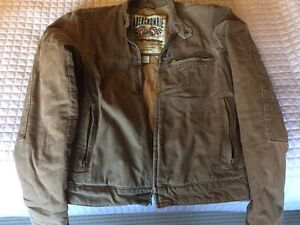 Large Abercrombie and Fitch Fall Motorcycle Style Jacket