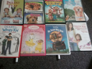64 DVD'S FOR KIDS FOR 5 -14