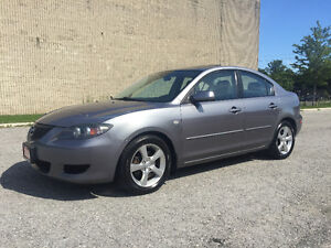 2004 Mazda MAZDA3 Low Km/Sunroof/Certified and E-Tested
